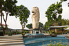 A Merlion on Sentosa Island