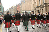 Bagpipers in Endiburgh