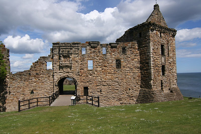 Castle Ruins in St Andrews