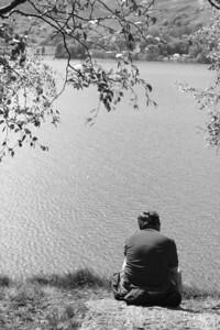 Dave enjoying the view at Loch Lomond