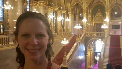 Emily at the Hungarian Parliament Building - Budapest, Hungary ... June 2, 2017 ... Photo by Rob Page III