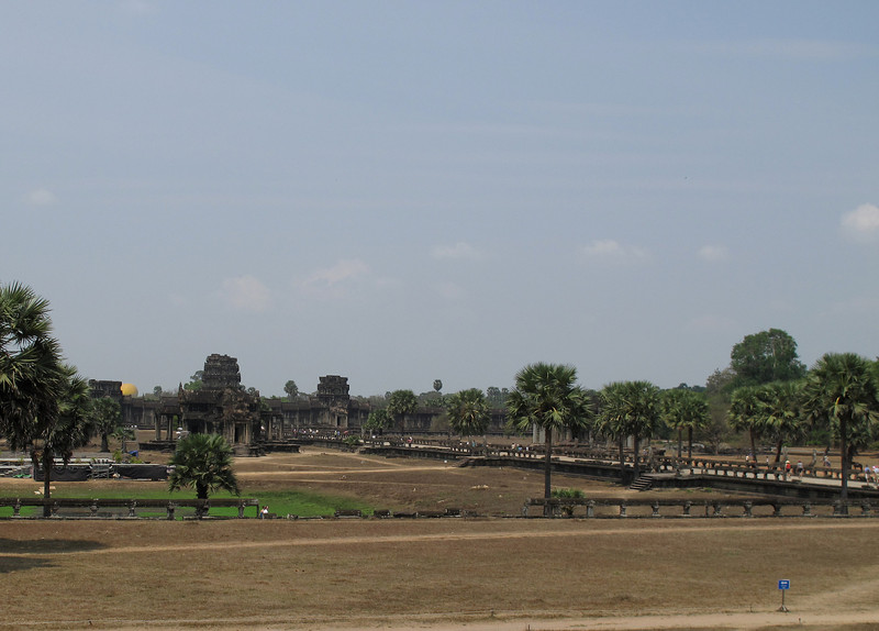 To the North Gate of Angkor Wat