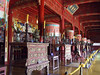 Inside a Temple in the Hung Mieu Compound in Hue Vietnam
