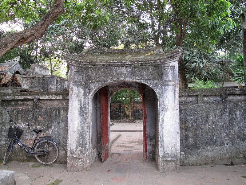 Grounds of the Old City - Hanoi