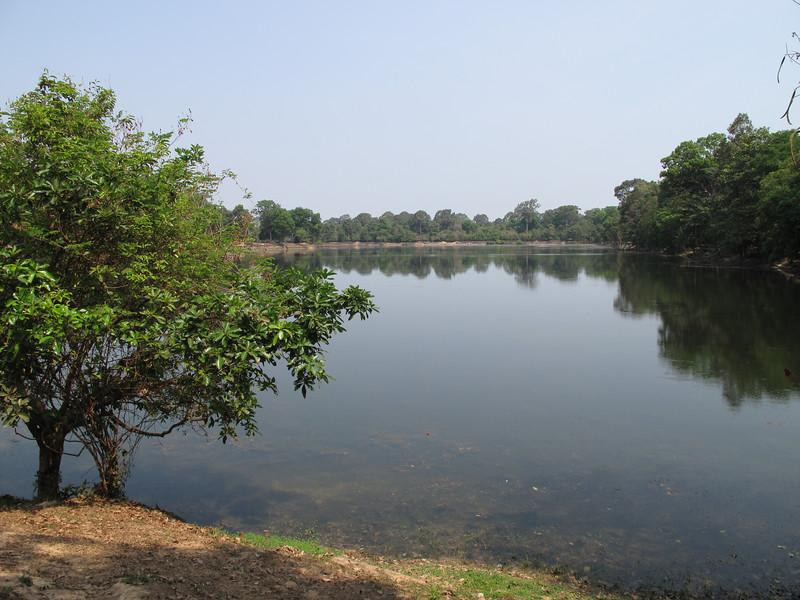 Moat Outside Angkor Wat