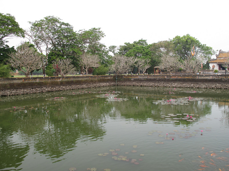 Grounds of the Imperial Palace in Hue