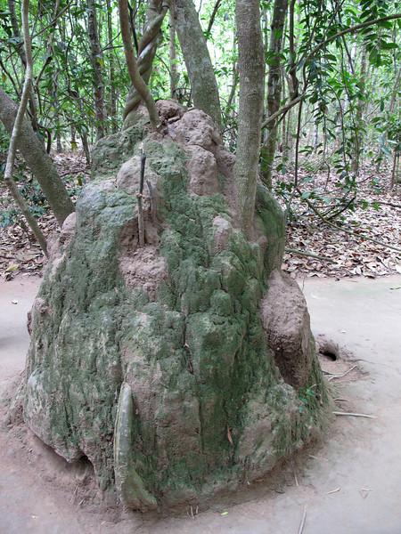 Fake Termite Mound - Air Passageway