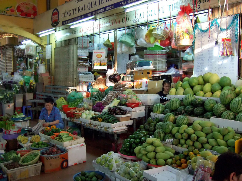 Ben Thanh Market - Saigon