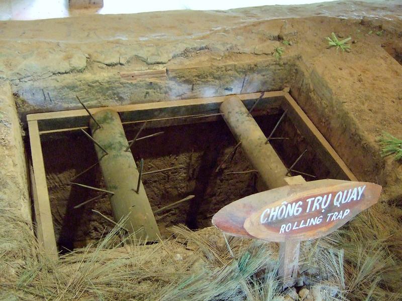Cu Chi Tunnel Area Rolling Trap