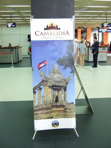 Arrive in Cambodia