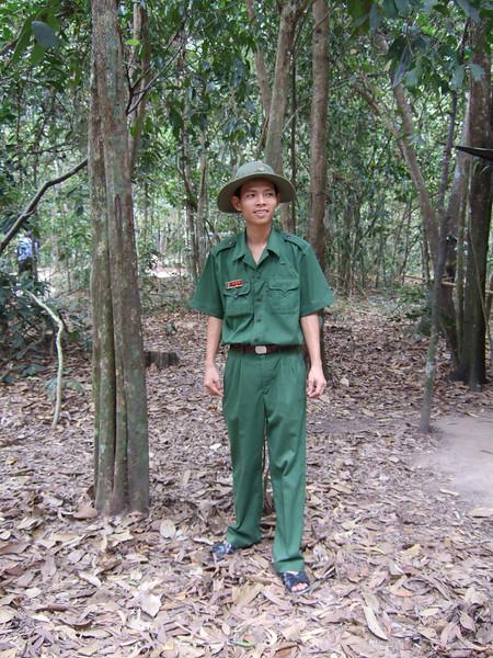 Cu Chi Tunnels Soldier