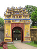 Gate inside the Hung Mieu Compound in Hue