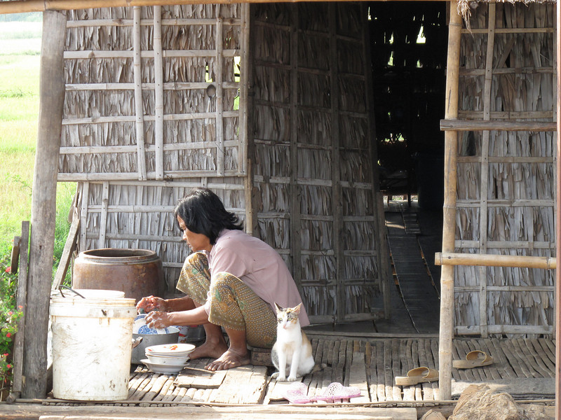 Life on the Side of the Road in Cambodia