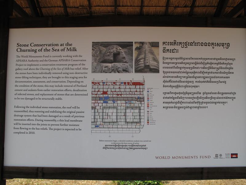 Restoration Techniques at Angkor Wat