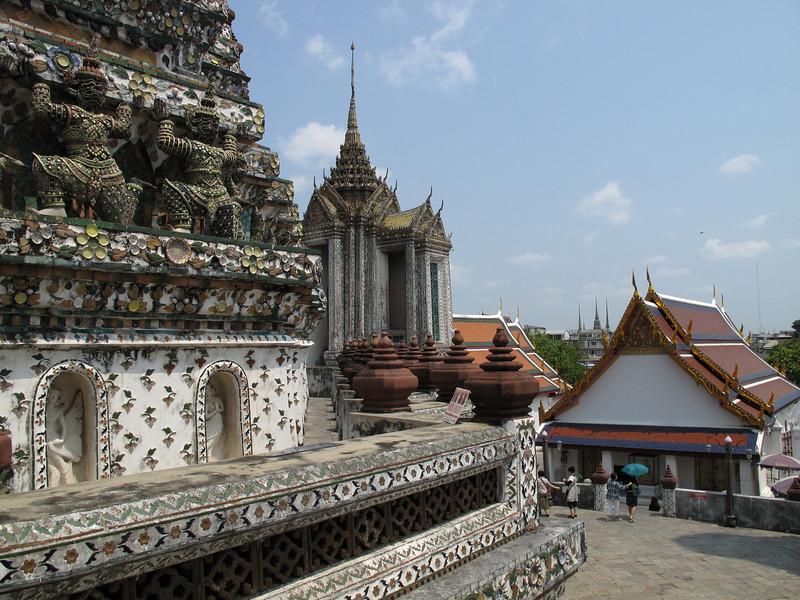 Grounds of Wat Arum - Bangkok