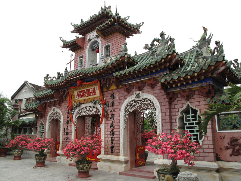 Entrance to the Cultural Display in Hoi An Old Town