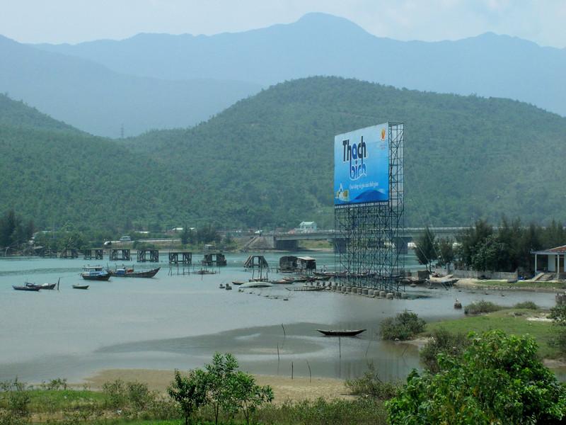 the Hai Van Pass on the way to Hue - Vietnam