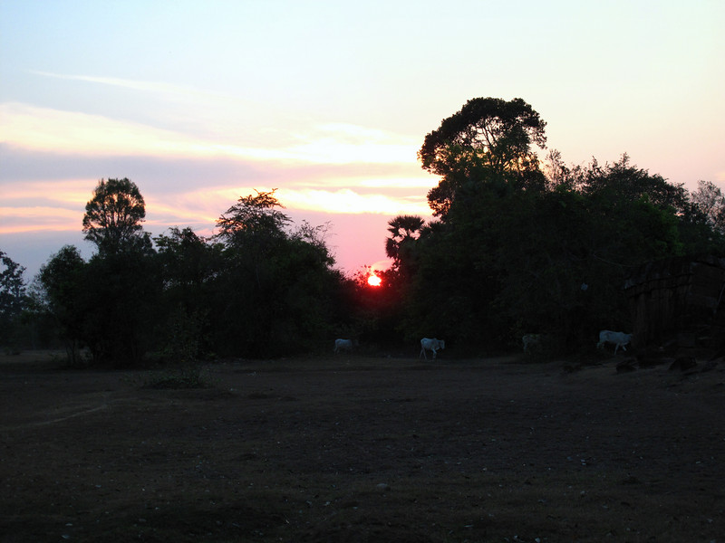 Sunset at Pre Rup Temple