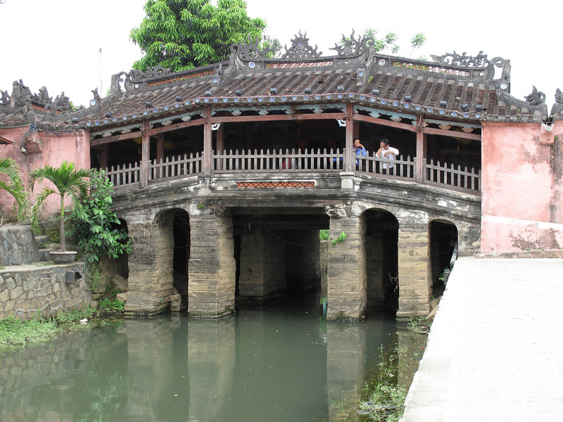 Japanese Bridge in Hoi An Old Town