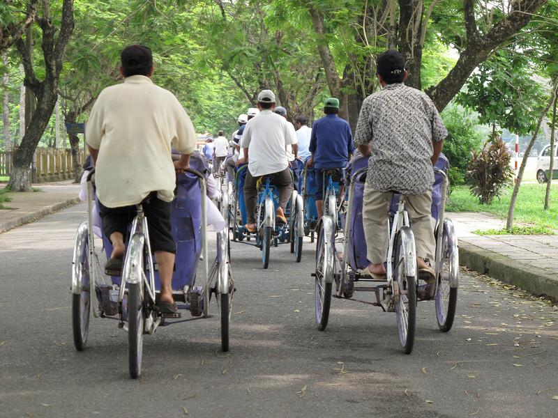 Back on the Cyclo Tour