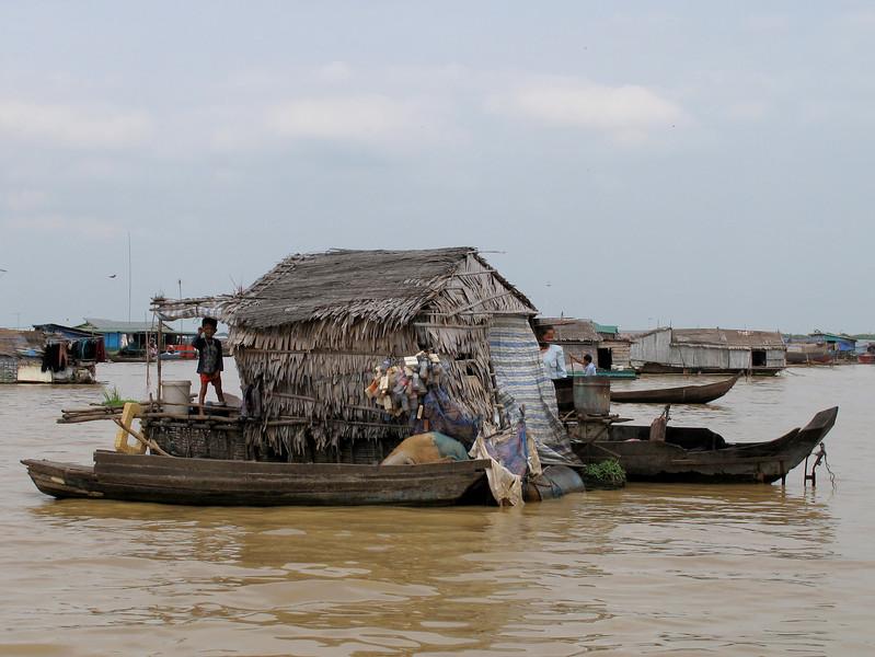 The Tonle Sap Lake Floating Village - Cambodia
