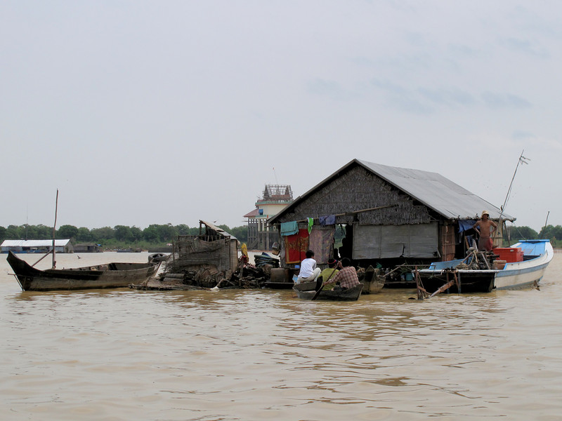 Life in the Tonle Sap Lake Floating Village - Cambodia