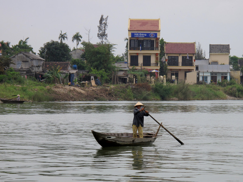 Life on the Water in Hoi An