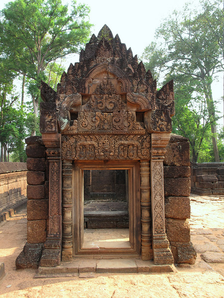 Banteay Srei Temple Grounds - Cambodia