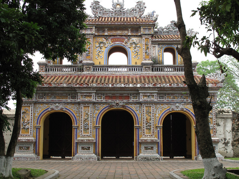 In the Hung Mieu Compound in Hue