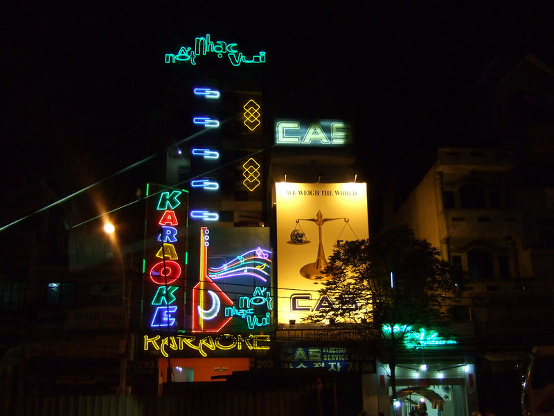 Saigon Streets at Night