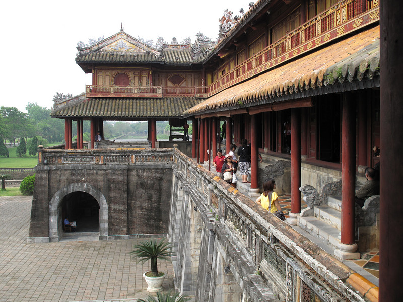 The Imperial Palace in Hue