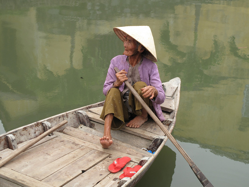 Life on the Water in Hoi An Old Town - Vietnam