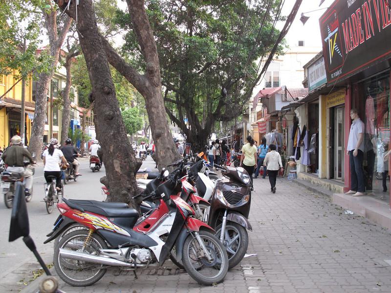 The streets of Hanoi