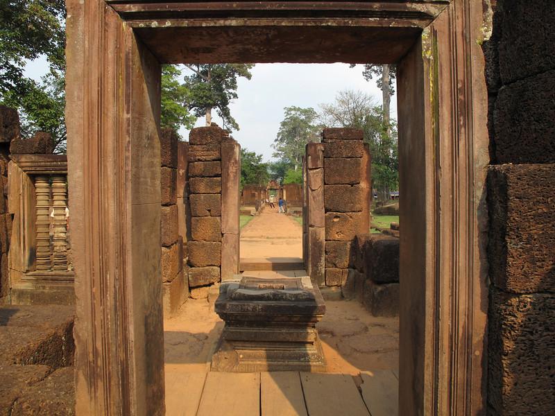 Banteay Srei Temple Grounds