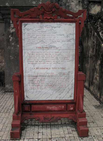 Thien Dihn Palace