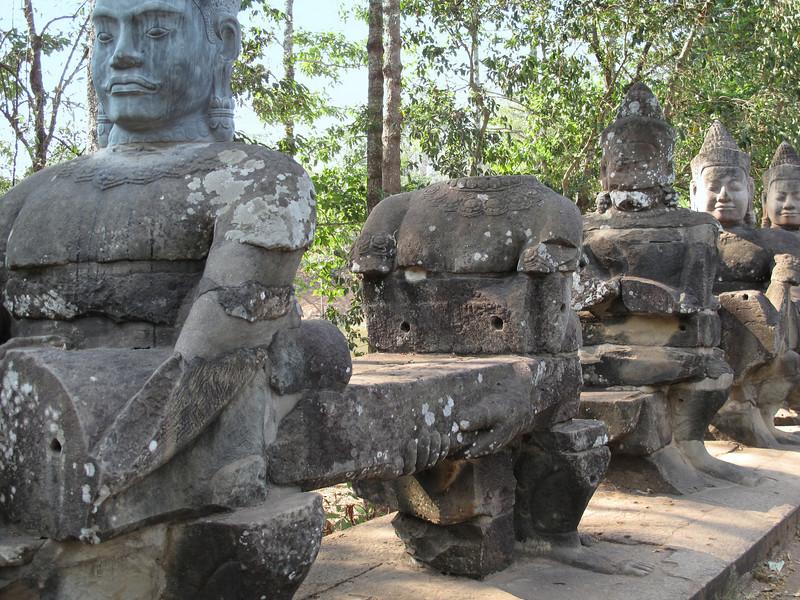 Entrance Gate to Angkor Thom