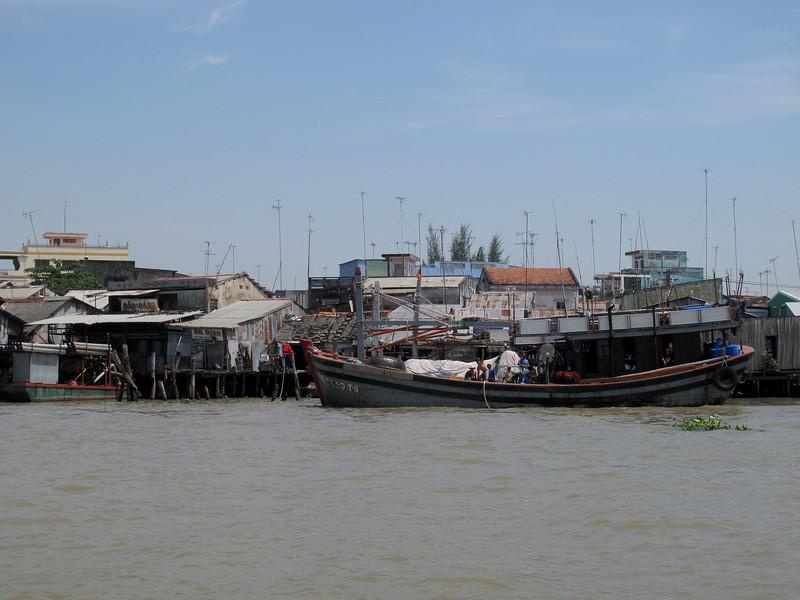 Mekong Delta River area of Saigon