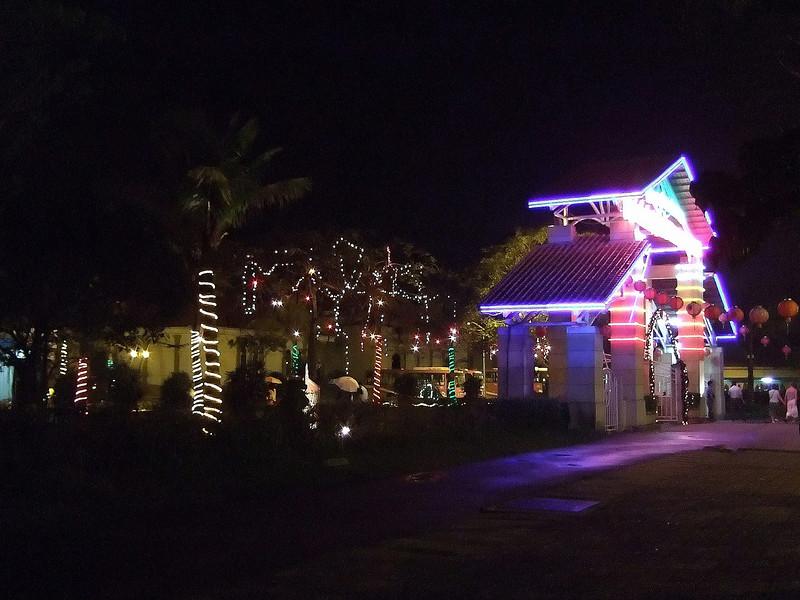 Night Spot in Ha Long Bay Vietnam