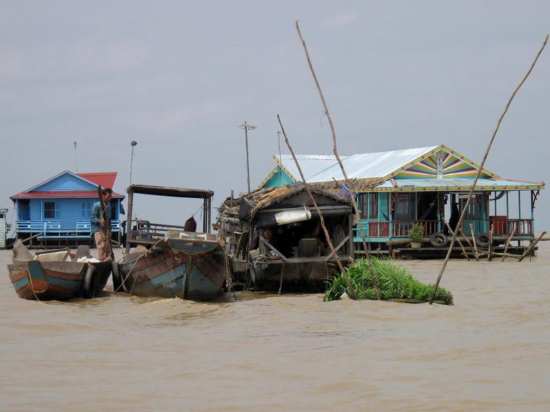 Life on the Tonle Sap Lake Floating Village