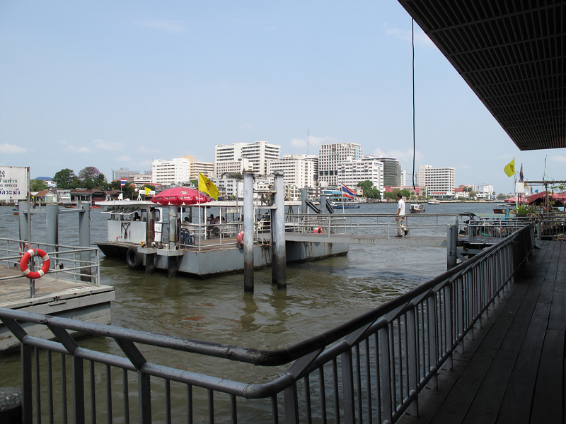 Ferry at the Chaophyara River