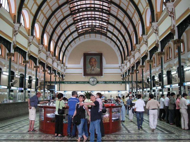 Inside the Saigon Post Office