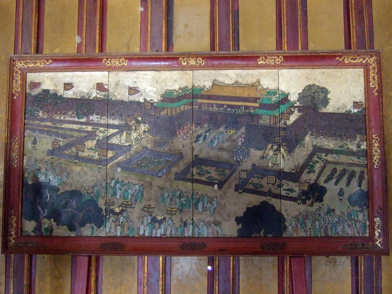 What it was like at the Imperial Palace- Hue