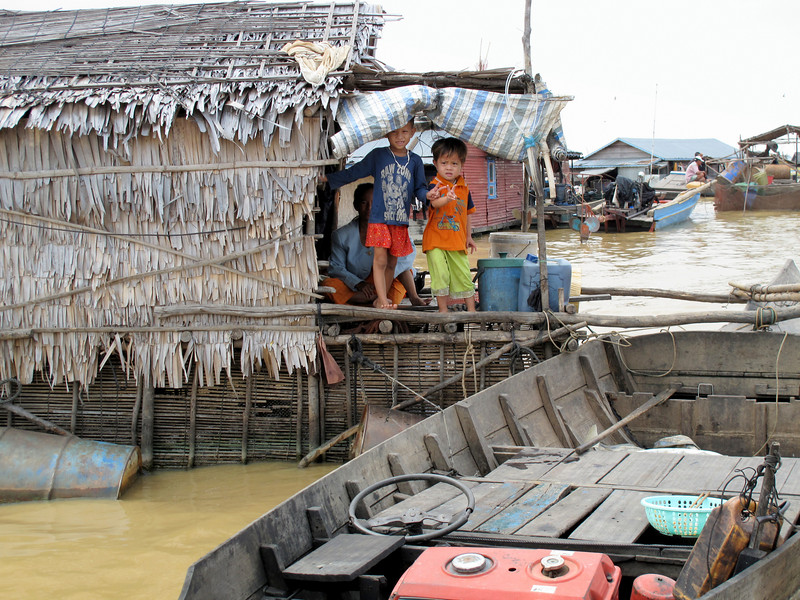 Life in the Tonle Sap Lake Floating Village