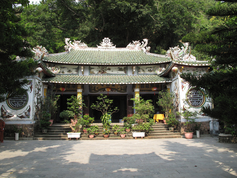 Lower Structure on the way to the Xa Loi Temple at Marble Mountain