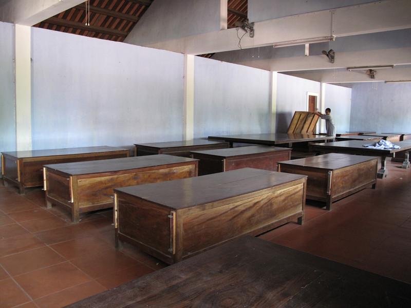 Area where the Monks sleep and study