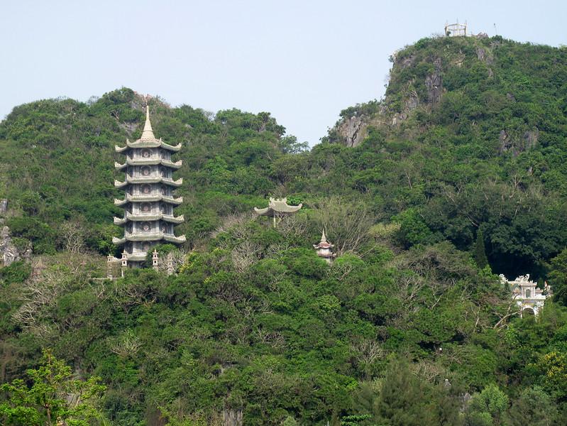 Xa Loi Temple on Marble Mountain - South of Da Nang Vietnam