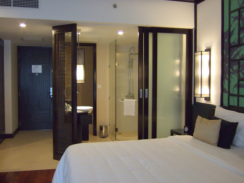 The room at the Novatel Ha Long Bay Hotel