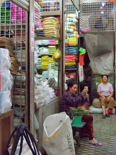 Inside the Dong Ba Market In Hue