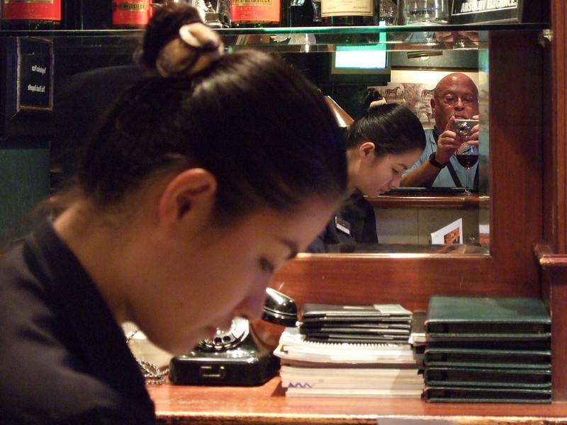Tourist in a Bar in Saigon