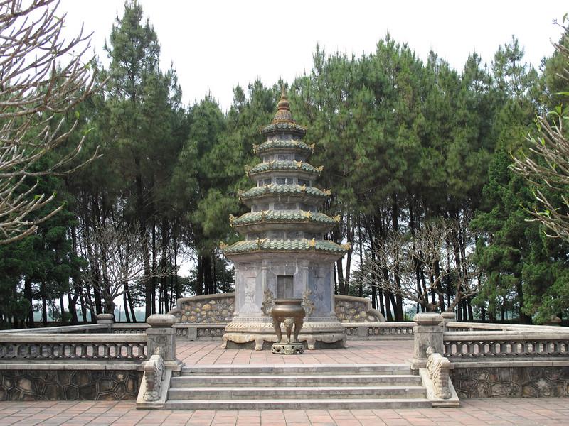 At the Thien Mu Pagoda